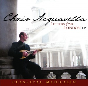 Chris Acquavella - Letters from London cover image